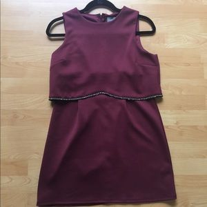 ASOS Burgundy Dress